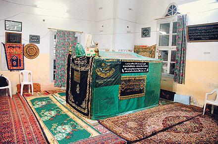 Laskiye'deki İbrahim Ethem'in kabri